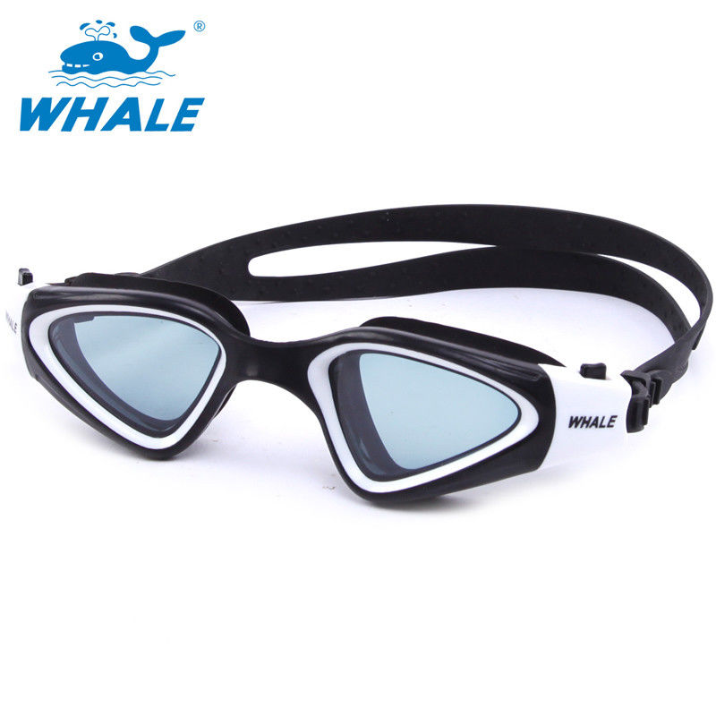 Crystal Clear Fog Free Swimming Goggles PC Lens Silicone Eye Seals For Mens