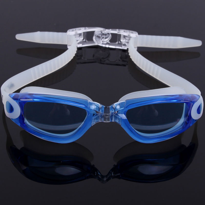 Custom Mould Proof Anti Fog Swim Goggles For Kids With Silicone Head Strap