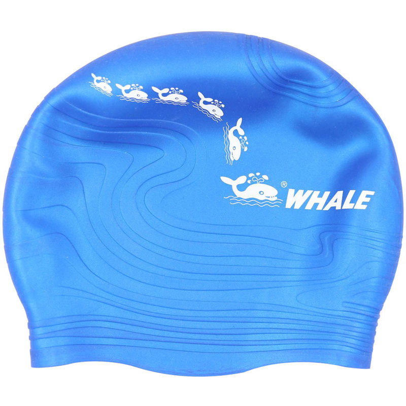 High Elasticity Printed Swim Caps Bathing Hat with High Grade Silicone Material