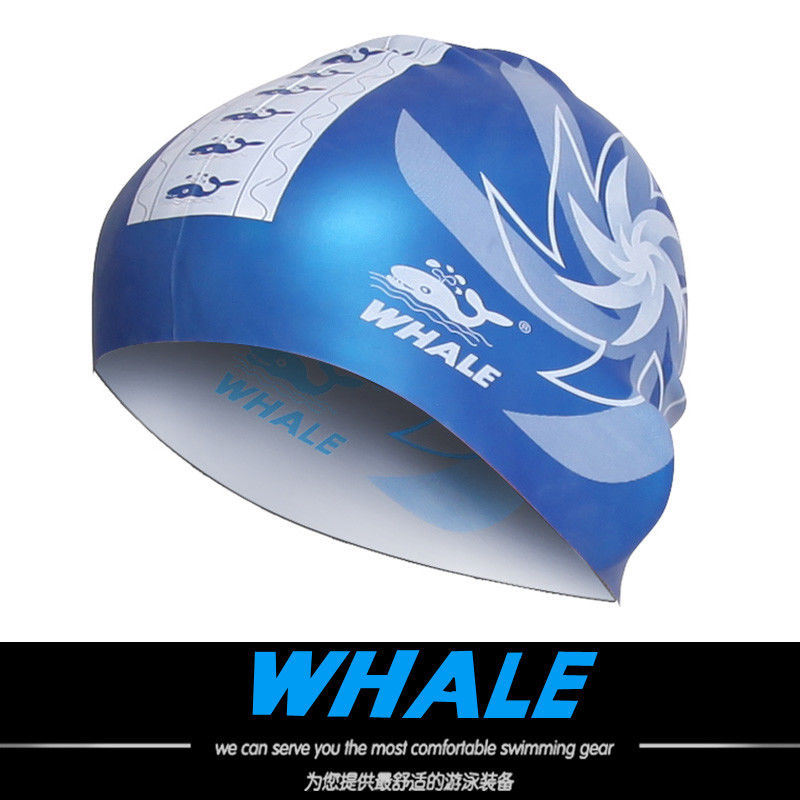 2 In 1 Premium Custom Silicone Swim Caps Reversible For Men And Women