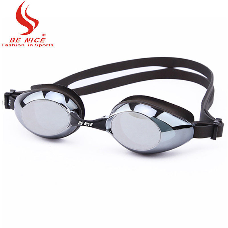 Womens Leak Free Uv Protection Swimming Goggles Adjustable Shoulder Strap