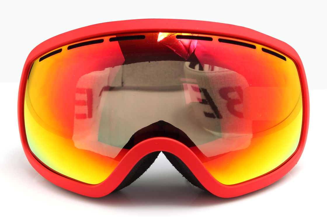 Frameless OTG Ski Goggles With Interchangeable Lenses UV400 Protection