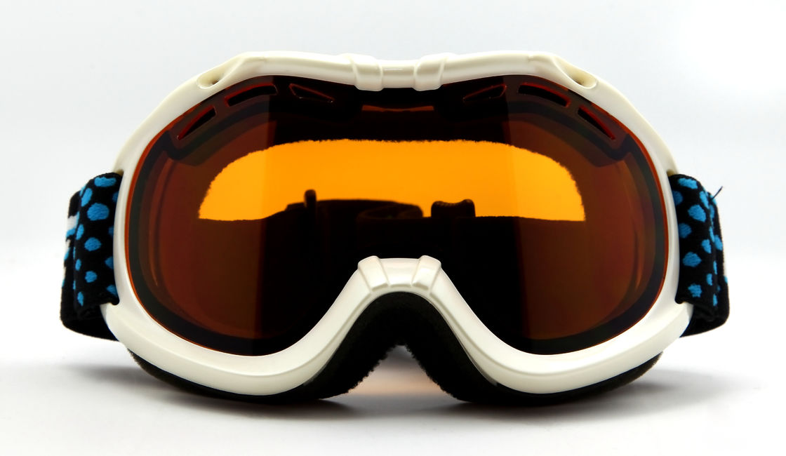Frameless Anti Fog Junior Snowboard Goggles WIth Dual-layer Lens